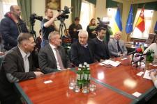 Візит Свена Хансена, Сергія Бубки та членів ради Євроатлетики до Луцька
