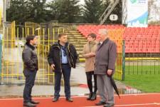 Приїзд почесного віце-президента Євроатлетики Карела Пільного до Луцька