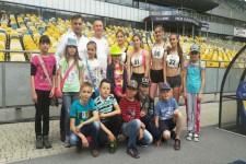 Поїздка луцьких школярів на Чемпіонат України з естафет у Києві
