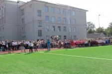 Відкриття нового стадіону у Нововолинську